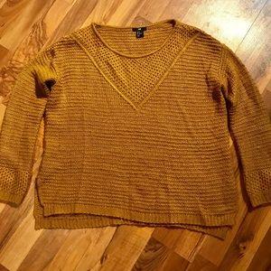 H&M Sweater -Mustard -Small